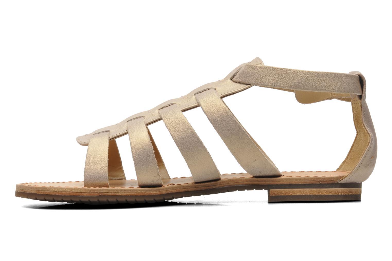 Sandales et nu-pieds Geox D JOLANDA D D5275D Beige vue face