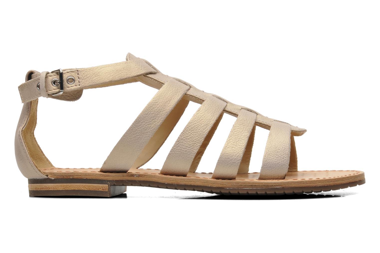 Sandales et nu-pieds Geox D JOLANDA D D5275D Beige vue derrière