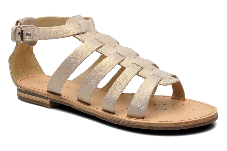 Geox D JOLANDA D D5275D (Beige) - Sandales et nu-pieds chez Sarenza (220256)