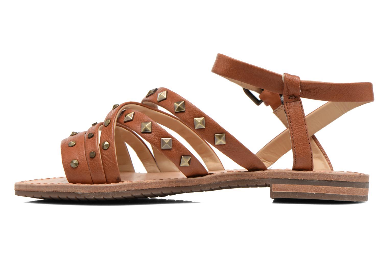 Sandales et nu-pieds Geox D JOLANDA E D5275E Marron vue face