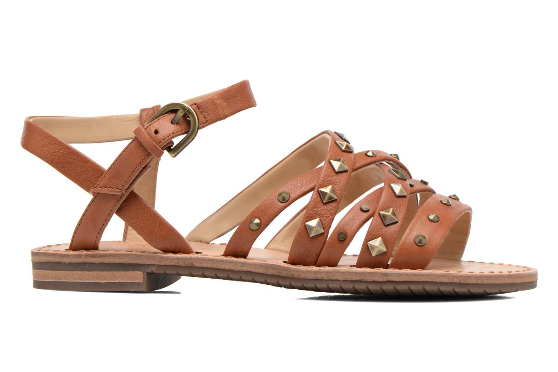 Sandales et nu-pieds Geox D JOLANDA E D5275E Marron vue derrière
