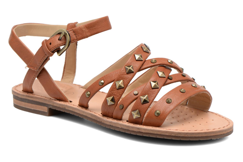 Sandales et nu-pieds Geox D JOLANDA E D5275E Marron vue détail/paire