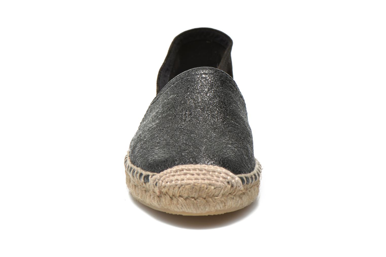 Espadrilles Maypol Selena Noir vue portées chaussures