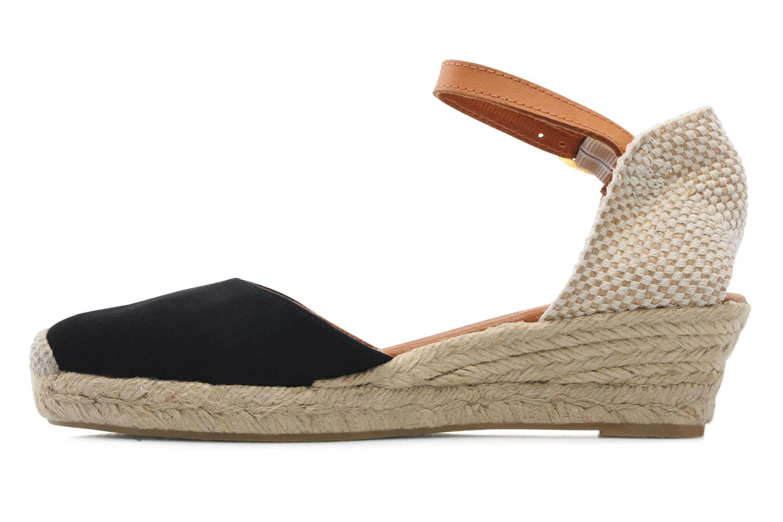 Sandales et nu-pieds Maypol Macaret Noir vue face