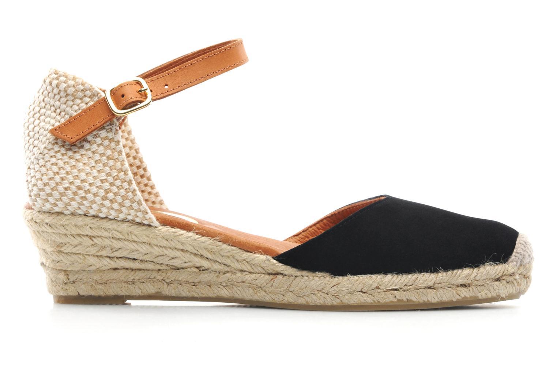 Sandales et nu-pieds Maypol Macaret Noir vue derrière
