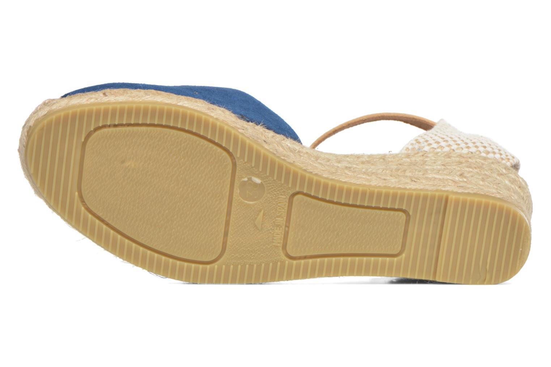 Sandalen Maypol Macaret blau ansicht von oben