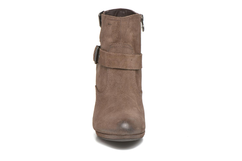 Stiefeletten & Boots Geox D Kali C D44L1C braun schuhe getragen