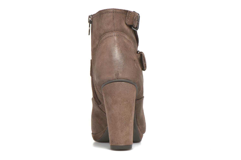 Boots en enkellaarsjes Geox D Kali C D44L1C Bruin rechts