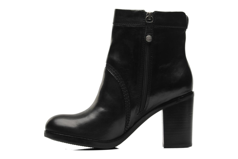 Bottines et boots Geox D Sylvia A D44H4A Noir vue face