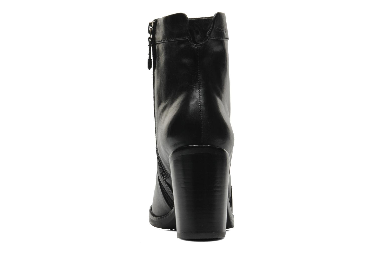 Bottines et boots Geox D Sylvia A D44H4A Noir vue droite