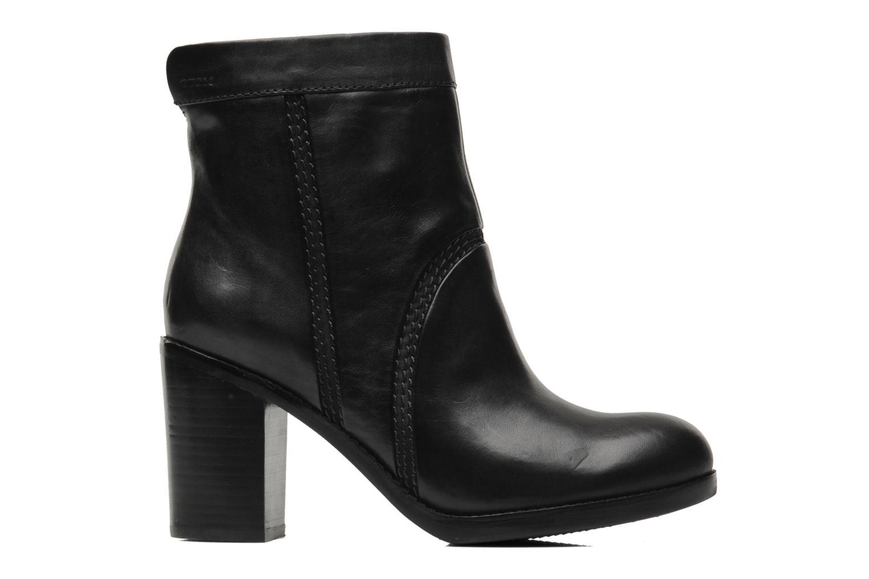 Bottines et boots Geox D Sylvia A D44H4A Noir vue derrière