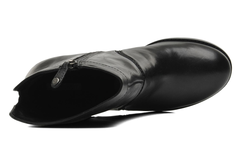Bottines et boots Geox D Sylvia A D44H4A Noir vue gauche