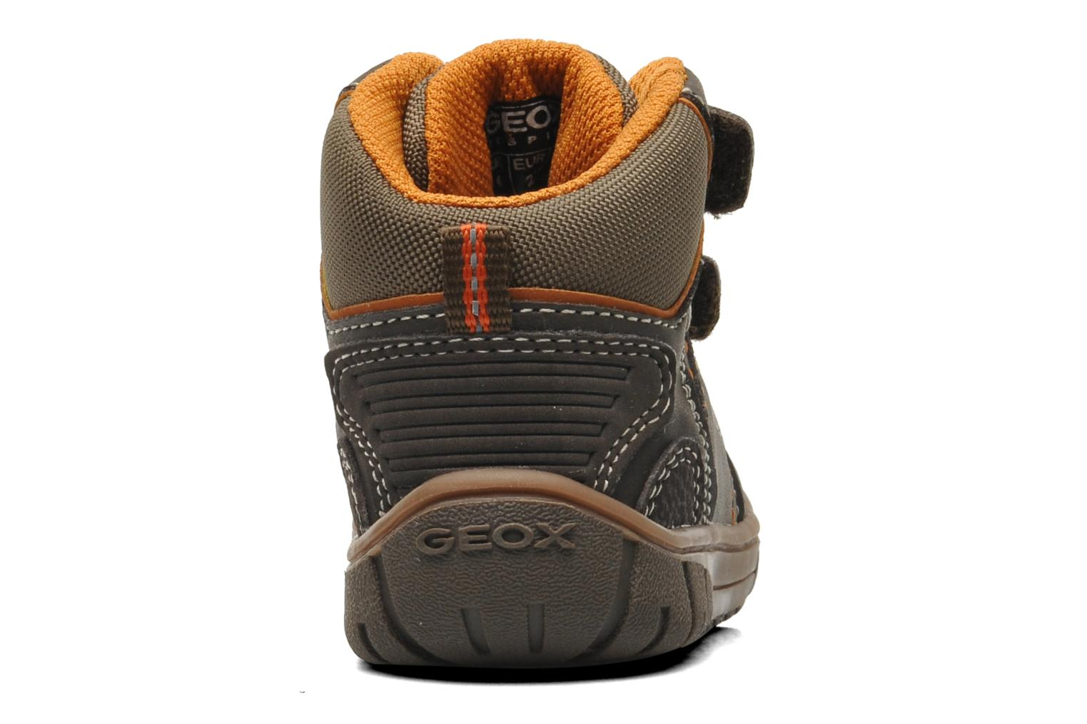 Trainers Geox B Omar B Boy ABX A B44N3A Brown view from the right