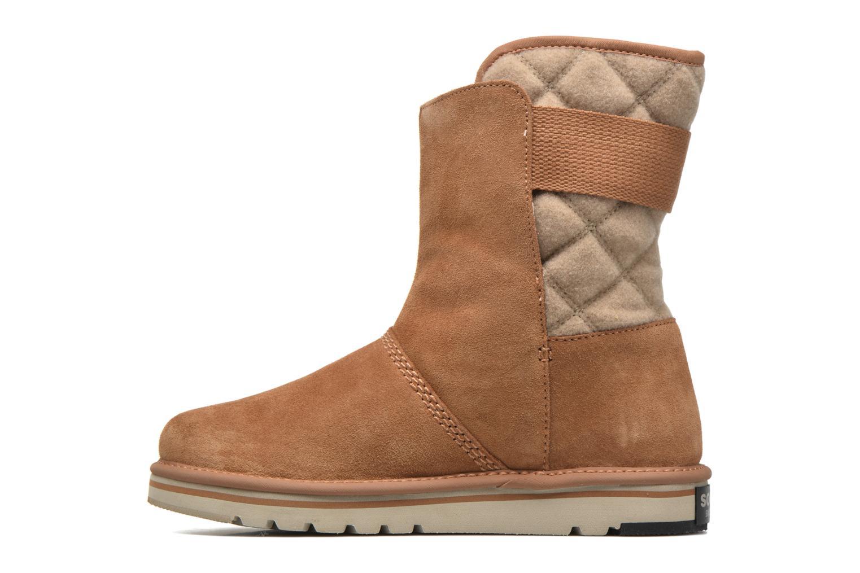 Bottines et boots Sorel Newbie I Marron vue face