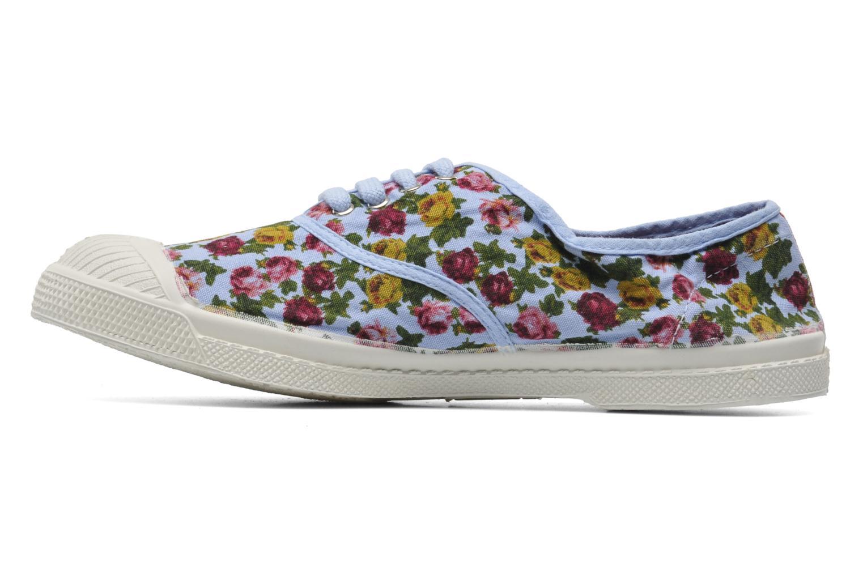 Sneakers Bensimon Tennis Paco Chicano Fleurs Multicolor voorkant
