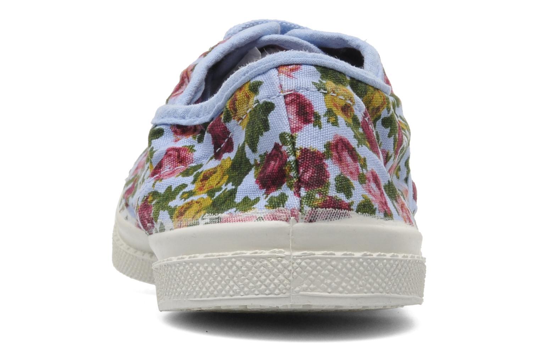 Sneakers Bensimon Tennis Paco Chicano Fleurs Multicolor rechts