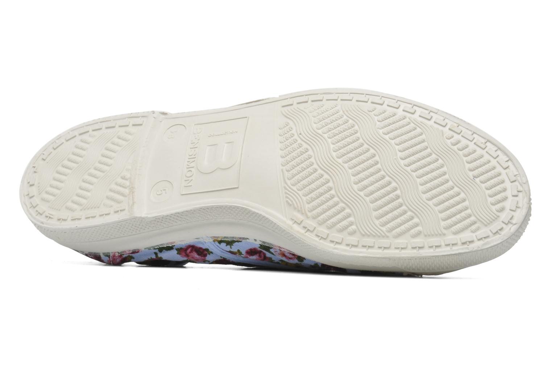 Sneakers Bensimon Tennis Paco Chicano Fleurs Multicolor boven
