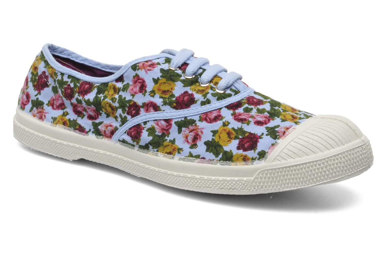 Sneakers Bensimon Tennis Paco Chicano Fleurs Multicolor detail