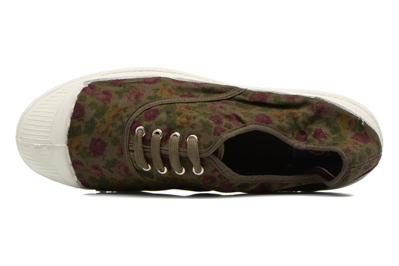 Sneakers Bensimon Tennis Paco Chicano Fleurs Multicolore immagine sinistra