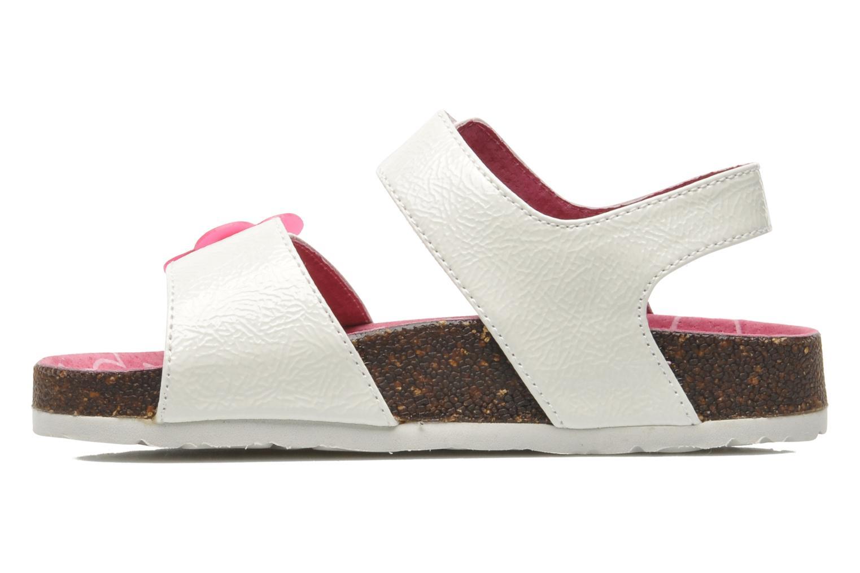 Sandalen Kickers MAGILOVE weiß ansicht von vorne