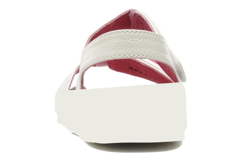 Sandalen Kickers MAGILOVE weiß ansicht von rechts