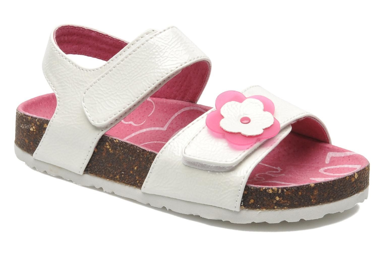Sandalen Kickers MAGILOVE weiß detaillierte ansicht/modell