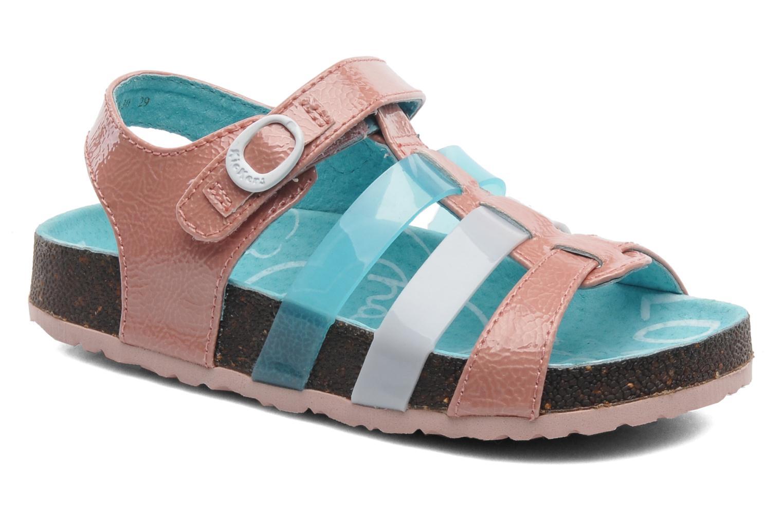 Sandales et nu-pieds Kickers MAGIPLAY Rose vue détail/paire