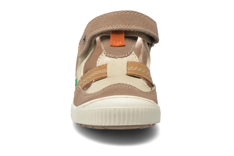 Schoenen met klitteband Kickers ZIGUERO Beige model