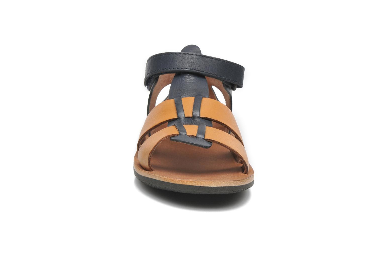 Sandalen Kickers SPAZZO blau schuhe getragen