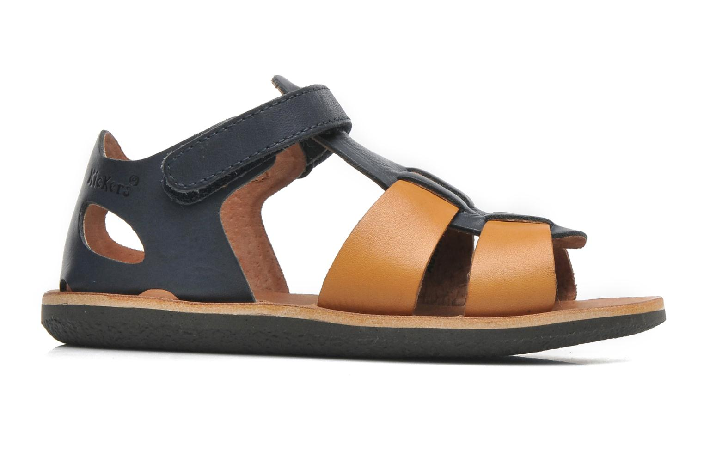 Sandalen Kickers SPAZZO blau ansicht von hinten