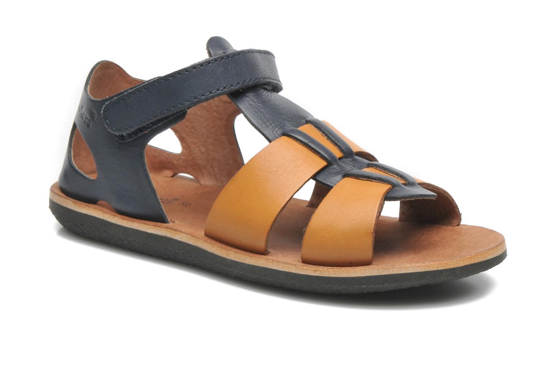 Sandalen Kickers SPAZZO blau detaillierte ansicht/modell