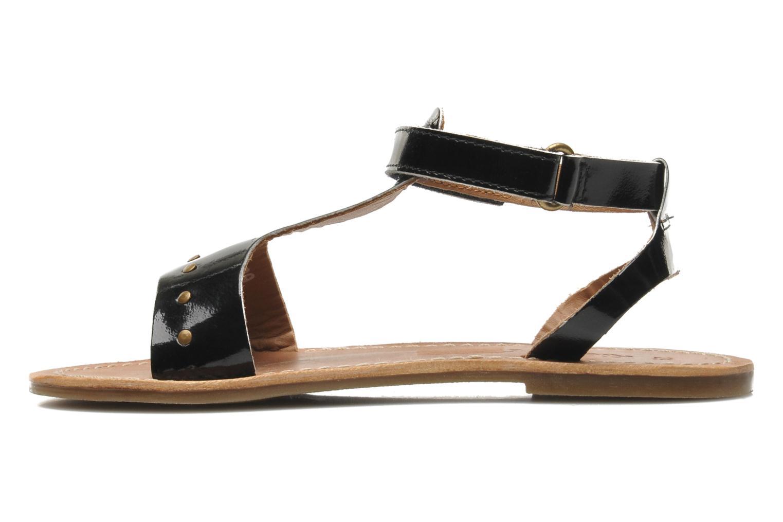 Sandalen Kickers DIZAINE V schwarz ansicht von vorne