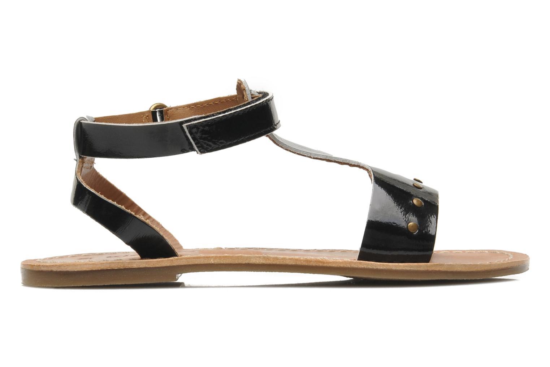 Sandalen Kickers DIZAINE V schwarz ansicht von hinten