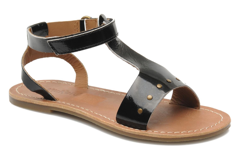 Sandalen Kickers DIZAINE V schwarz detaillierte ansicht/modell