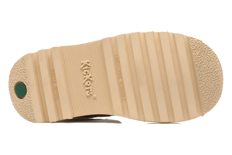 Sandales et nu-pieds Kickers NEOROBIS Marron vue haut
