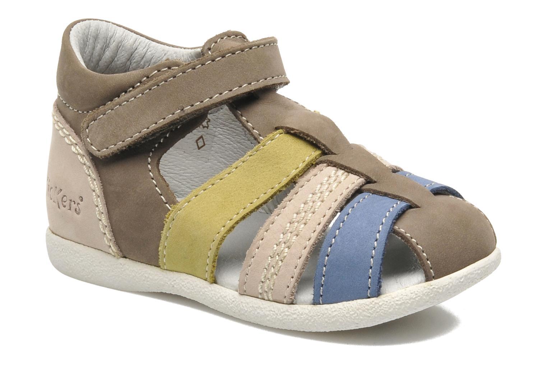 Sandalen Kickers BABYSUN2 grau detaillierte ansicht/modell