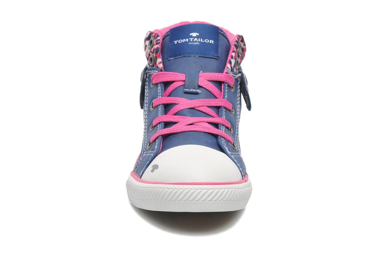 Baskets Tom Tailor Stark Bleu vue portées chaussures