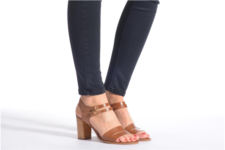 Sandalen Georgia Rose Chapon blau ansicht von unten / tasche getragen