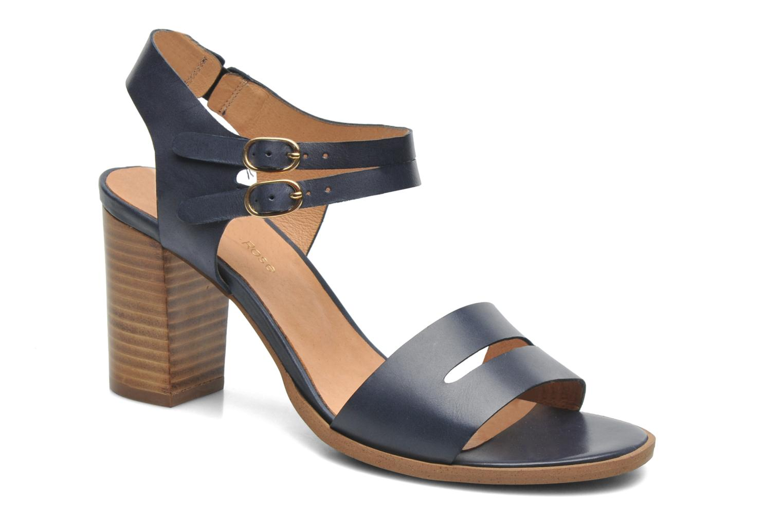 Sandalen Georgia Rose Chapon blau detaillierte ansicht/modell