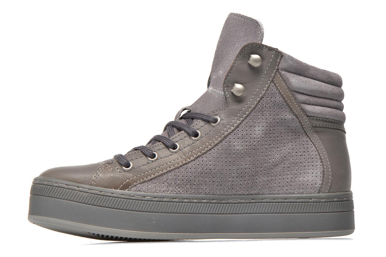 Sneaker Pataugas Pacy grau ansicht von vorne