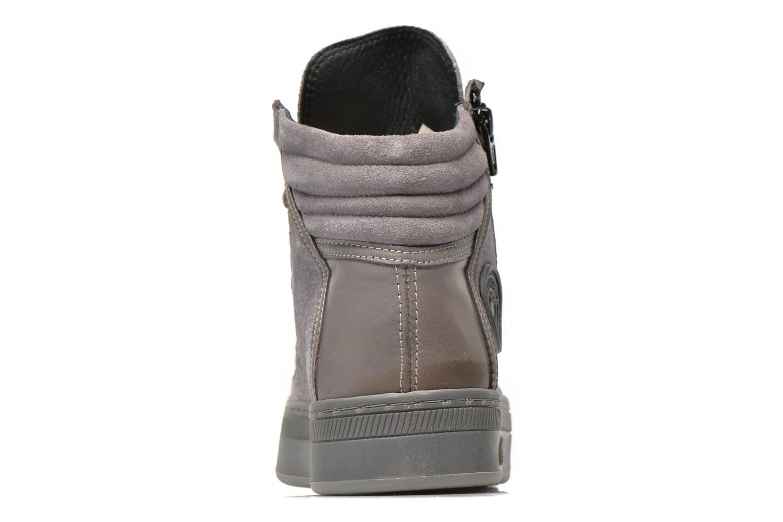 Sneaker Pataugas Pacy grau ansicht von rechts
