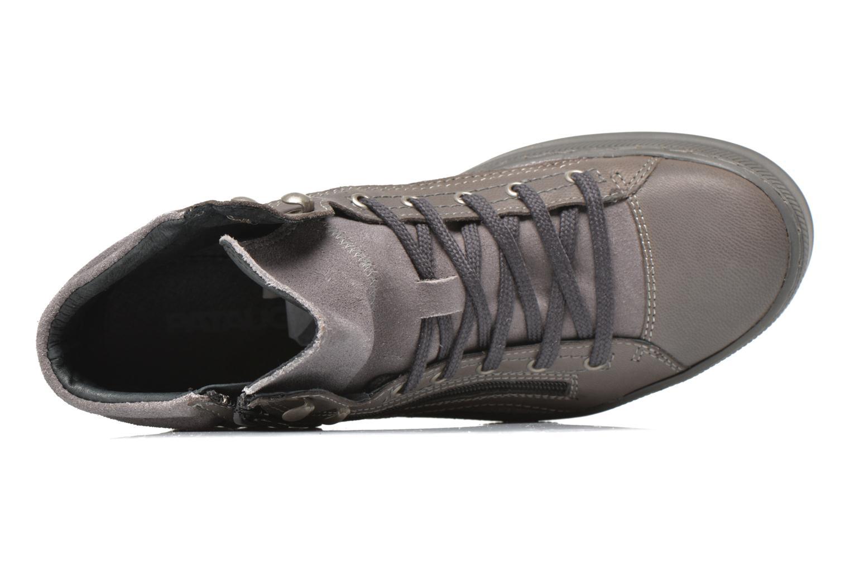 Sneaker Pataugas Pacy grau ansicht von links