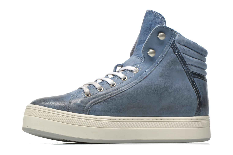 Sneaker Pataugas Pacy blau ansicht von vorne
