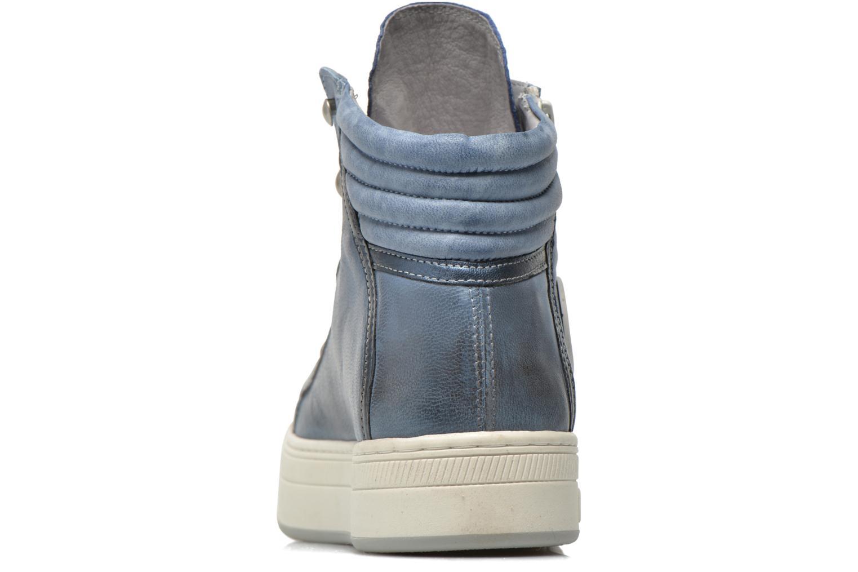 Sneaker Pataugas Pacy blau ansicht von rechts