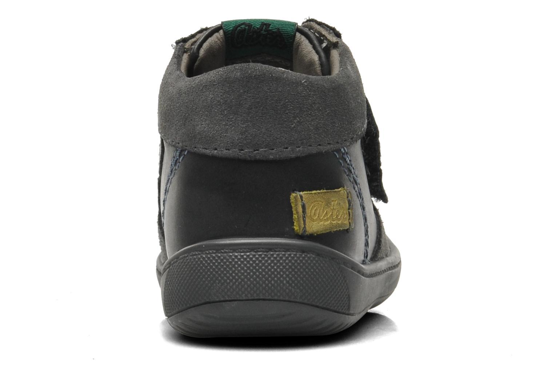 Chaussures à scratch Aster Pavel Noir vue droite