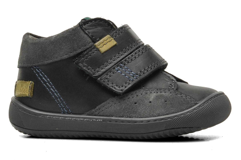 Chaussures à scratch Aster Pavel Noir vue derrière