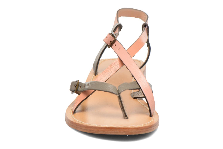 Sandales et nu-pieds Elizabeth Stuart Hop 683 Orange vue portées chaussures