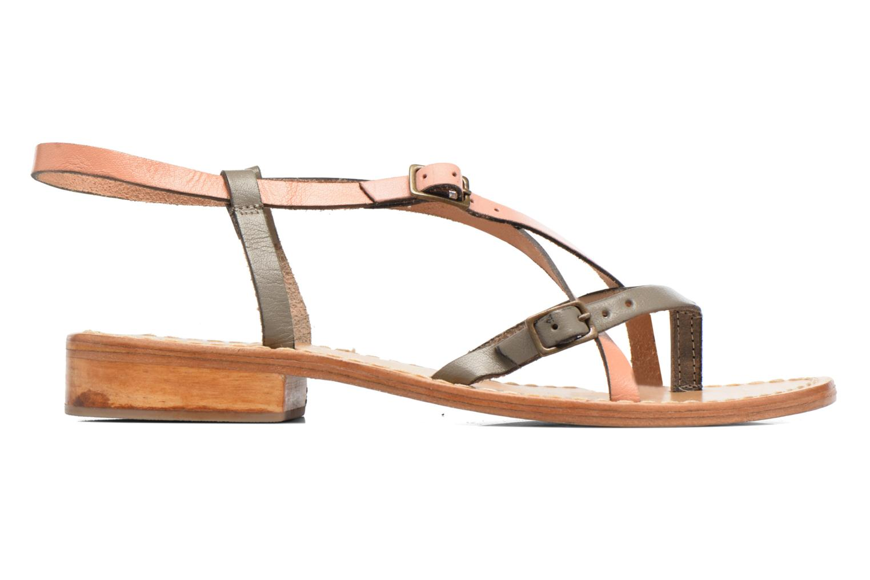 Sandales et nu-pieds Elizabeth Stuart Hop 683 Orange vue derrière