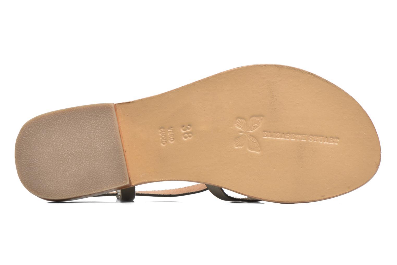 Sandales et nu-pieds Elizabeth Stuart Hop 683 Orange vue haut