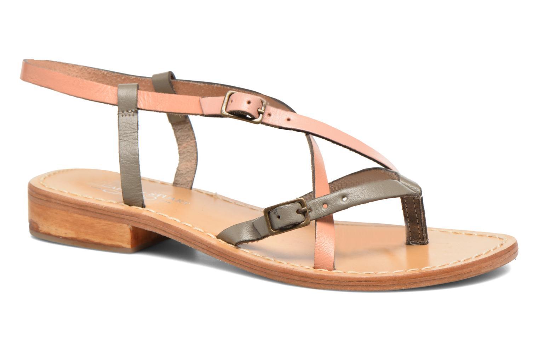 Marques Chaussure femme Elizabeth Stuart femme Hop 683 Corail Multi